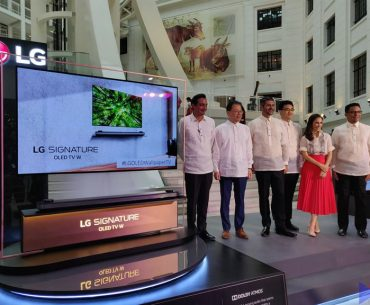 LG OLED Wallpaper TV (W8) Makes its Grand Debut in PH