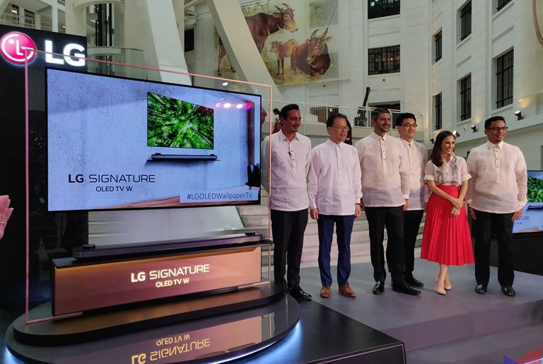 lg w8 oled 1 768x515 - LG OLED Wallpaper TV (W8) Makes its Grand Debut in PH