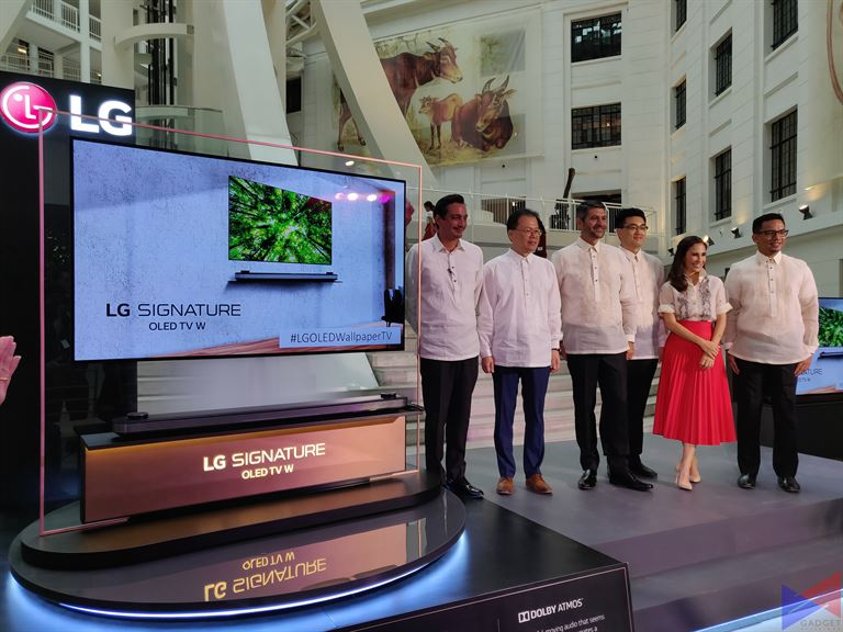 lg w8 oled 1 - LG OLED Wallpaper TV (W8) Makes its Grand Debut in PH
