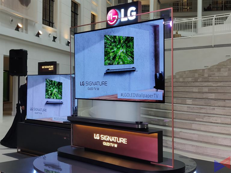 Lg Oled Wallpaper Tv W8 Makes Its Grand Debut In Ph Gadget Pilipinas