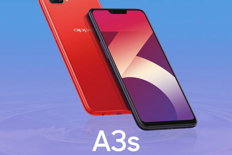 oppo a3s 770x515 - OPPO A3s Now Available in PH for PhP6,990!