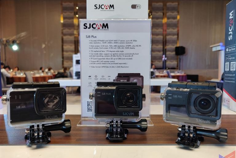 SJCAM Launches SJ8 Series Action Cameras in PH