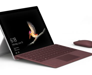 surface go 1 370x305 - Microsoft's New Surface Go is a More Affordable Surface Pro