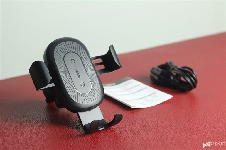 Baseus Car Mount 45 770x513 - Baseus wireless power charging solutions make us love the brand more!