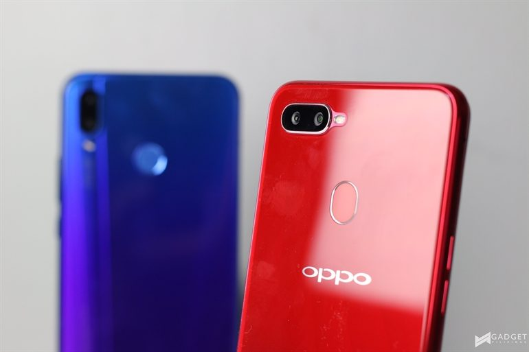 OPPO F9 trumps over Huawei Nova 3i in Gaming Performance