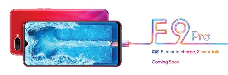 OPPO F9 Pro Confirmed - Has VOOC and Triangular Notch