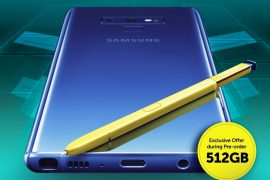 Smart Samsung Galaxy Note9 270x180 - Get Your Samsung Galaxy Note 9 on Smart's GigaX Plans!