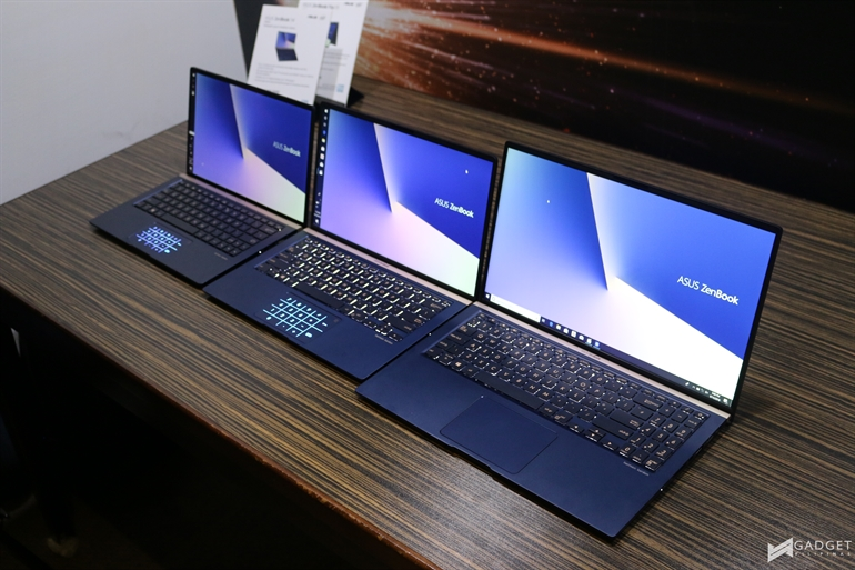 Zenbook 2018 Series 6 - ASUS Announces ZenBook 13, 14, and 15 with Whiskey Lake Processors!