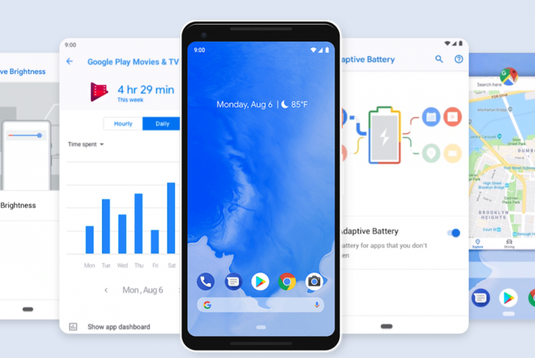 android pie 1 770x515 - Android 9.0 is Android Pie: Now Available for Pixel Devices!