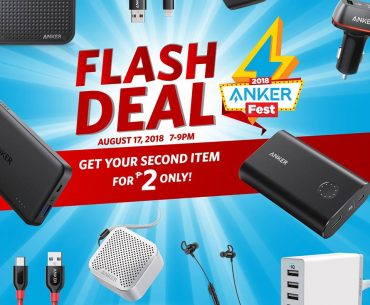 anker flash deal 370x305 - Get Your Second Anker Product for Only 2 Pesos with the Ankerfest 2018 Flash Deals!
