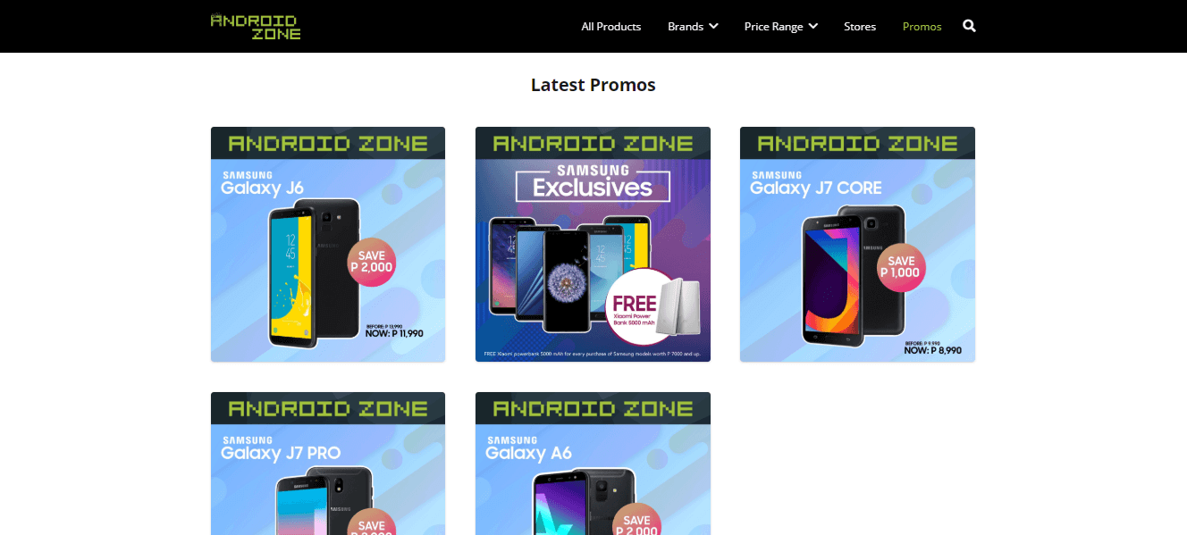 az website 4 - Android Zone Launches its Own Website!