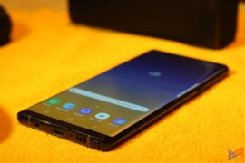 note 9 18 270x180 - Samsung Galaxy Note 9: First Impressions