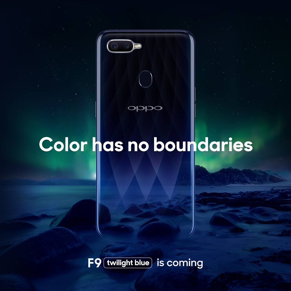 OPPO F9 Set to Debut in PH on August 15!
