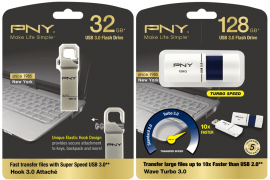 pny 1 1 270x180 - PNY Announces Hook Attaché 3.0 and Wave Turbo 3.0 USB Drives