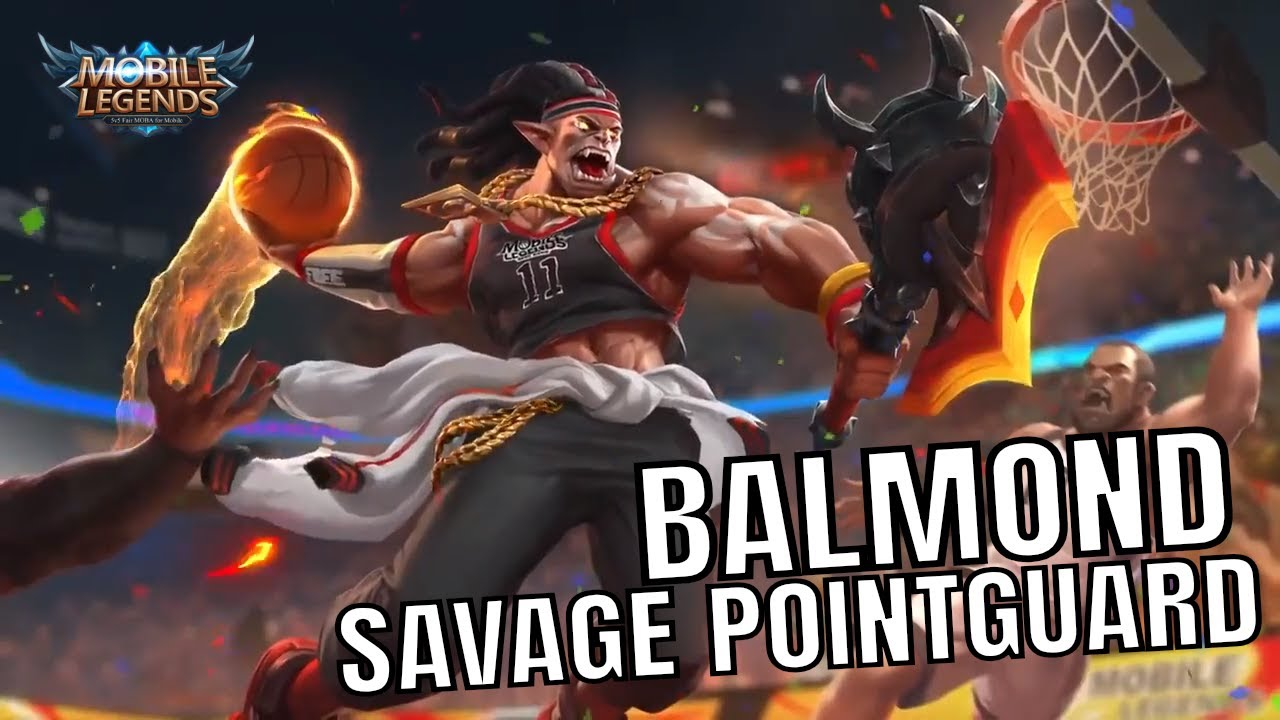 "savage pointguard - Mobile Legend's Balmond ""cosplays"" as a warmonger Orc basketballer"
