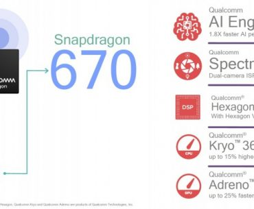 Qualcomm Snapdragon 670 Now Official