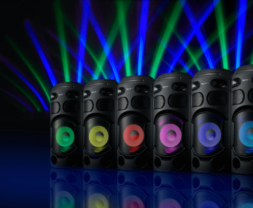 Liven Up the Party with Sony's New High-Power Audio Systems!