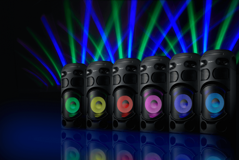 sony audio 770x515 - Liven Up the Party with Sony's New High-Power Audio Systems!