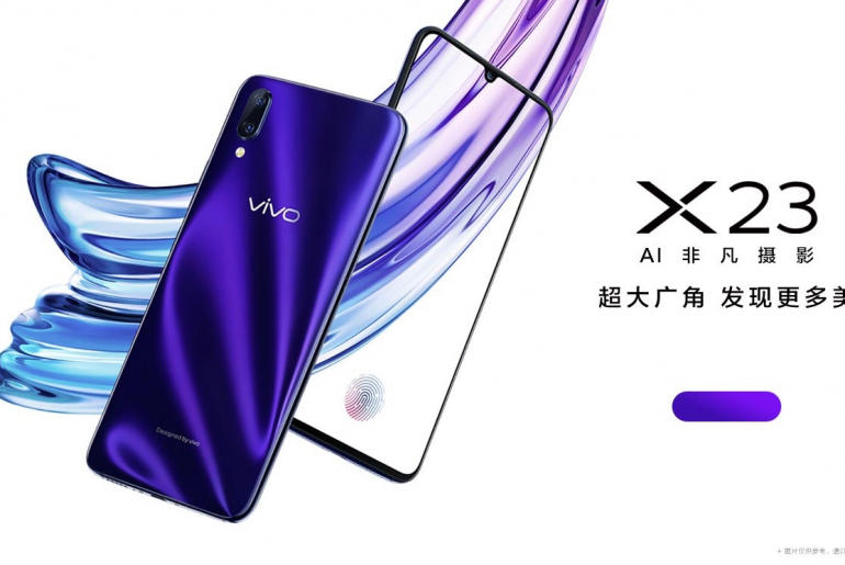 x23 2 770x515 - Vivo X23 Goes Live in Company's Chinese Website, Up for Pre-Order!