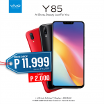 The Vivo Y85 is Now Priced at Only PhP11,995!