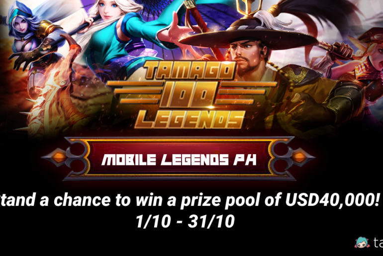 Tamago Announces 100 Legends Contest for PH Mobile Legends Players!
