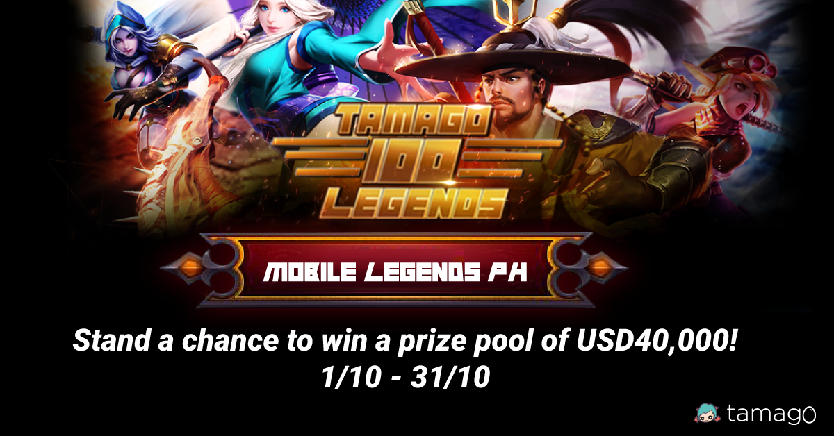 tamago mobile legends, Tamago Announces 100 Legends Contest for PH Mobile Legends Players!, Gadget Pilipinas, Gadget Pilipinas