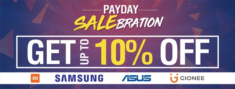 42656903 467097537130285 1585771216390586368 o 770x293 - Android Zone announces Payday Salebration, up 10% off on selected products!