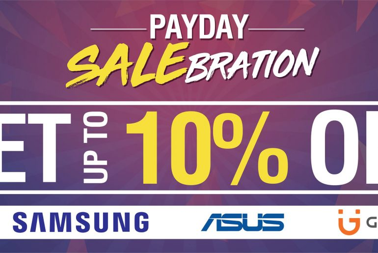 Android Zone announces Payday Salebration, up 10% off on selected products!