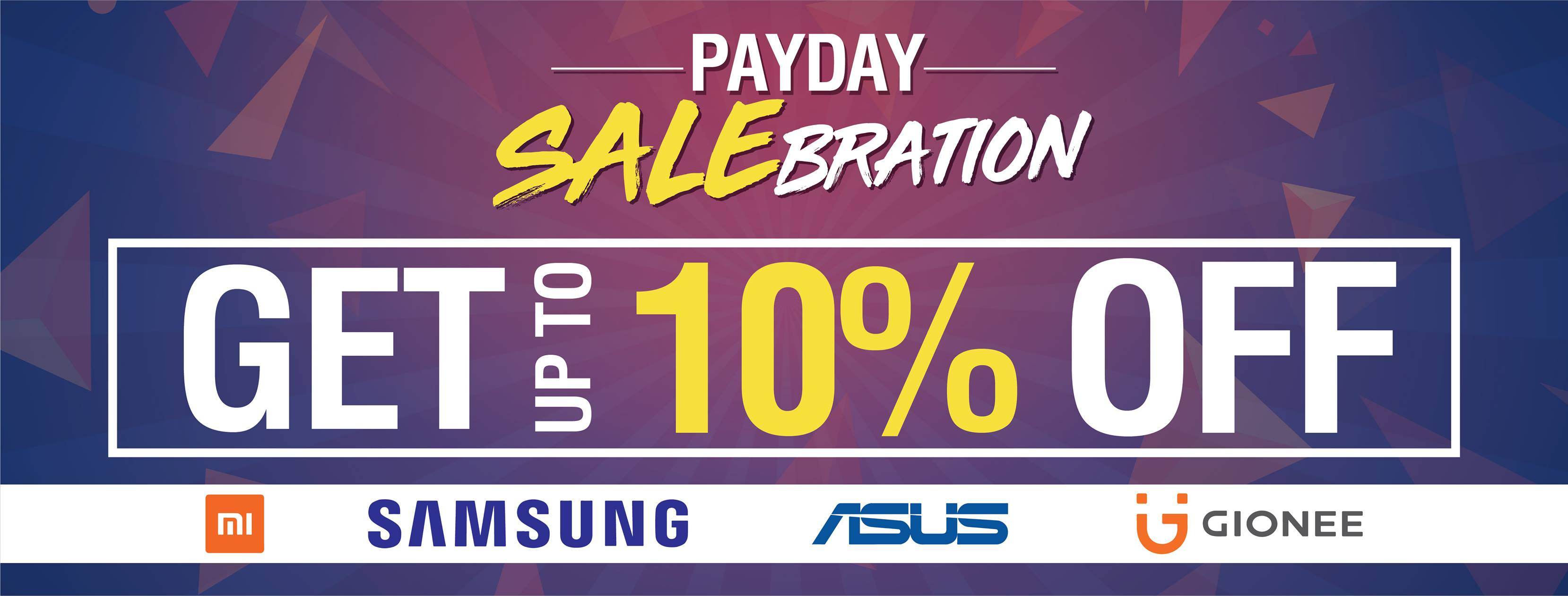 42656903 467097537130285 1585771216390586368 o - Android Zone announces Payday Salebration, up 10% off on selected products!