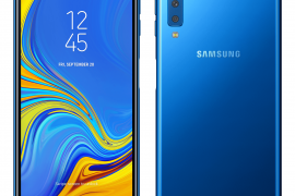 Galaxy A7 Front Blue 1 270x180 - The Galaxy A7 is Samsung's First Smartphone with a Triple Camera System!