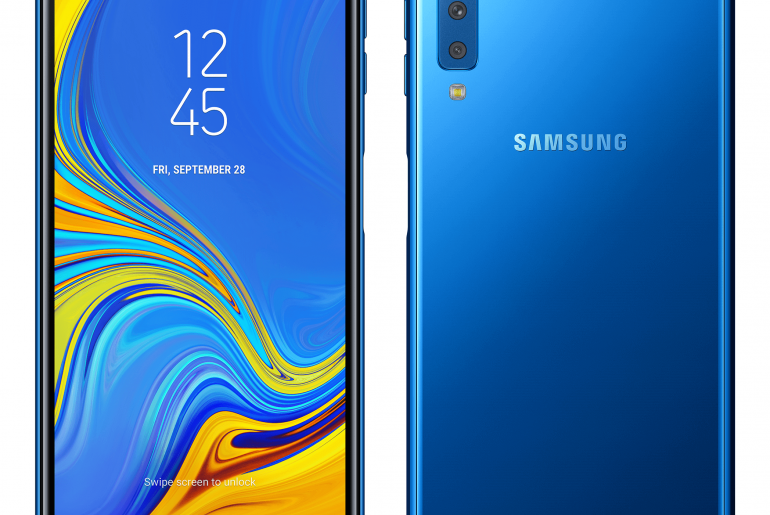 The Galaxy A7 is Samsung's First Smartphone with a Triple Camera System!