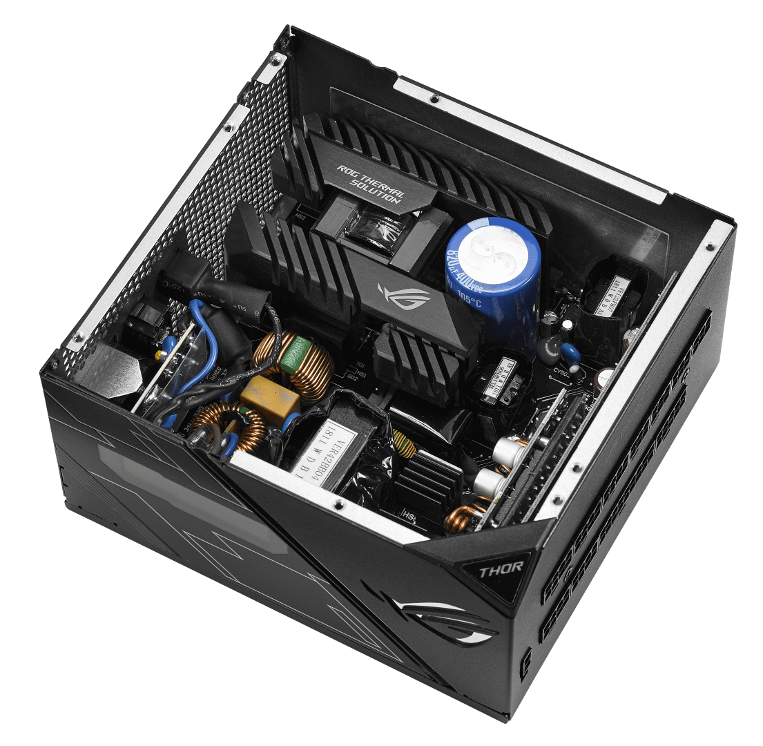 ROG THOR 850P inside Large - ROG Thor Series Power Supplies Coming to PH This October!