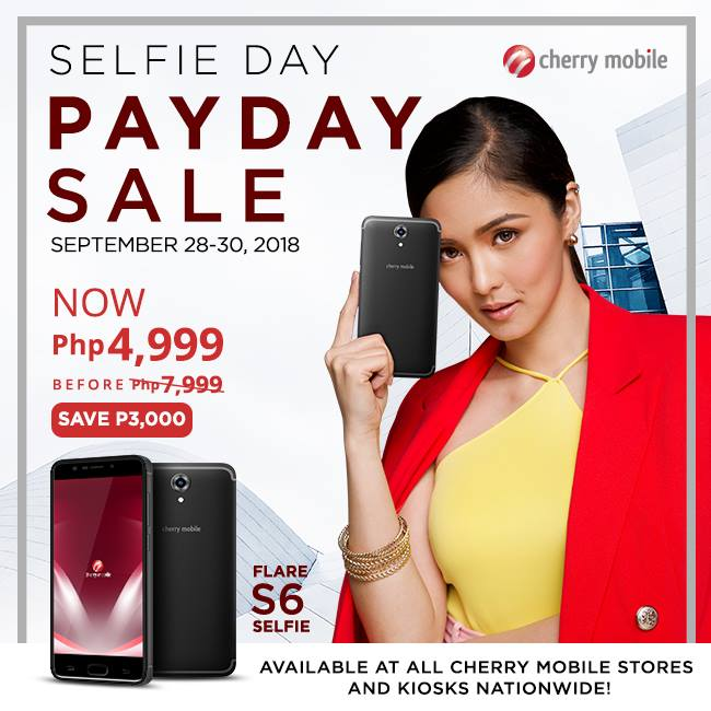 Cherry Mobile Flare S6 Selfie is now just Php4999, down from PhP7999