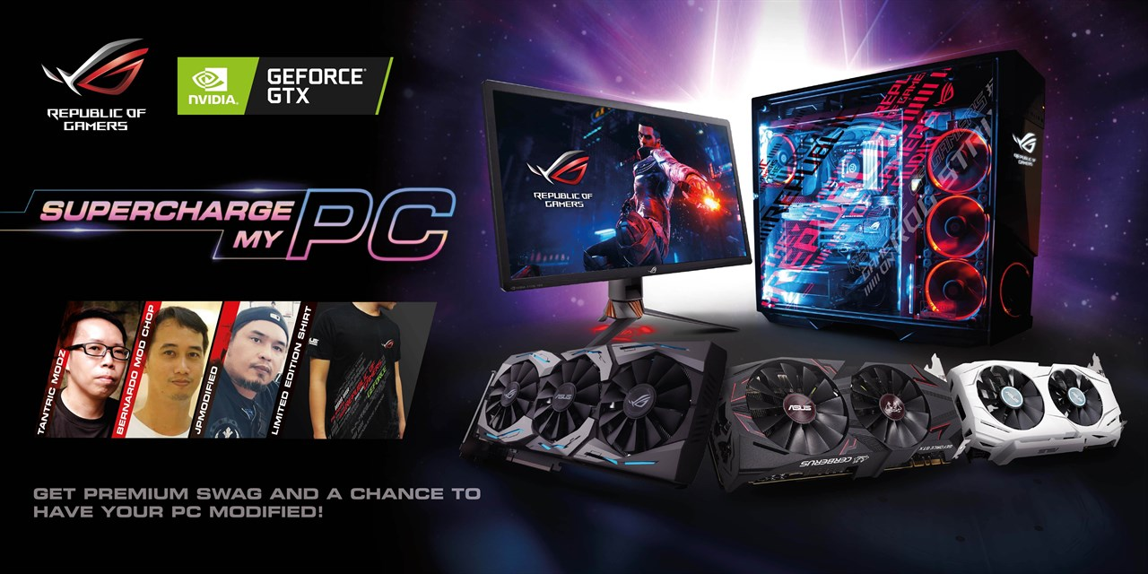 supercharge my pc, Get a Chance to Have Your PC Modded with ASUS ROG's Supercharge My PC Campaign!, Gadget Pilipinas