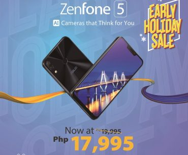 ZenFone 5 Holiday Sale 370x305 - ASUS Announces Early Holiday Sale - ZenFone 5 Now Priced at PhP17,995!