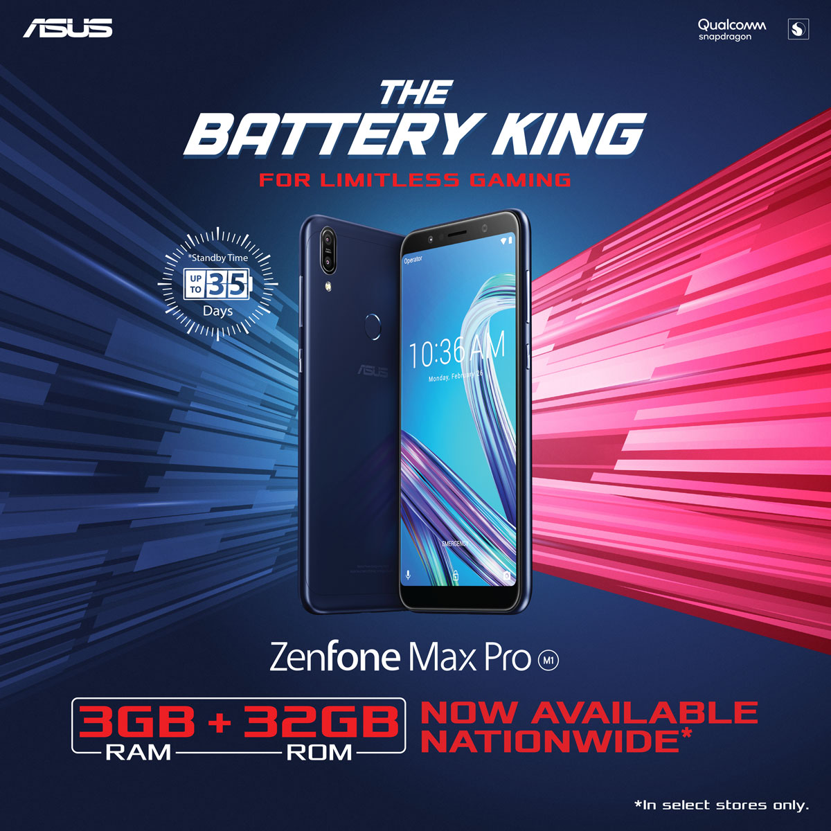 ZenFone Max Pro M1 3GB 32GB Variant Now Available - ASUS ZenFone Max Pro M1 3GB + 32GB Variant Now Available in Stores Nationwide!