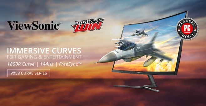 viewsonic 1 - ViewSonic Launches VX58 Curved Monitor Series in PH