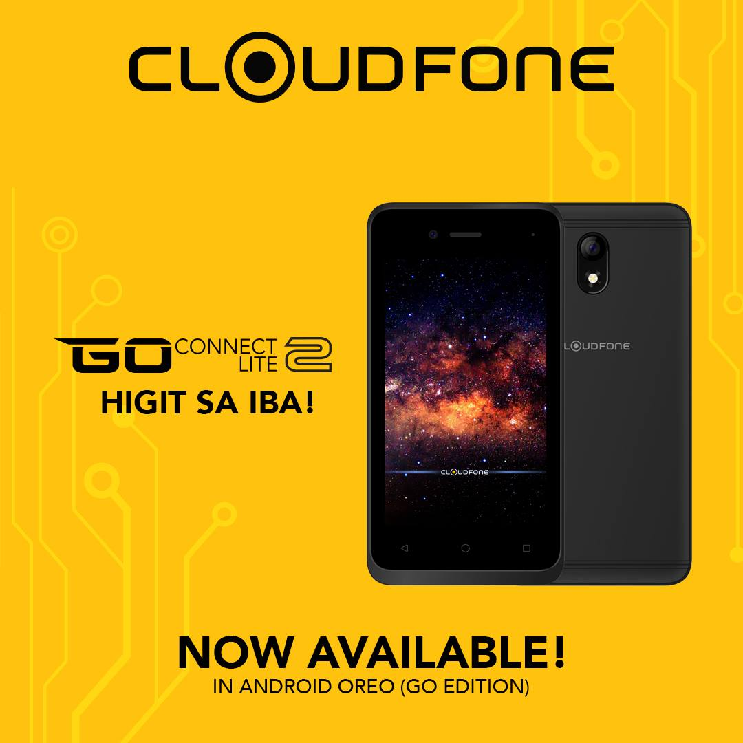 cloudfone go connect lite 2, Cloudfone Go Connect Lite 2 is affordable but good enough for first time smartphone users, Gadget Pilipinas