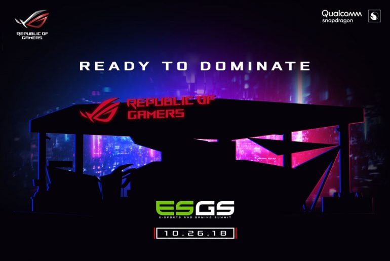 ASUS Republic of Gamers is Ready to Dominate ESGS 2018!