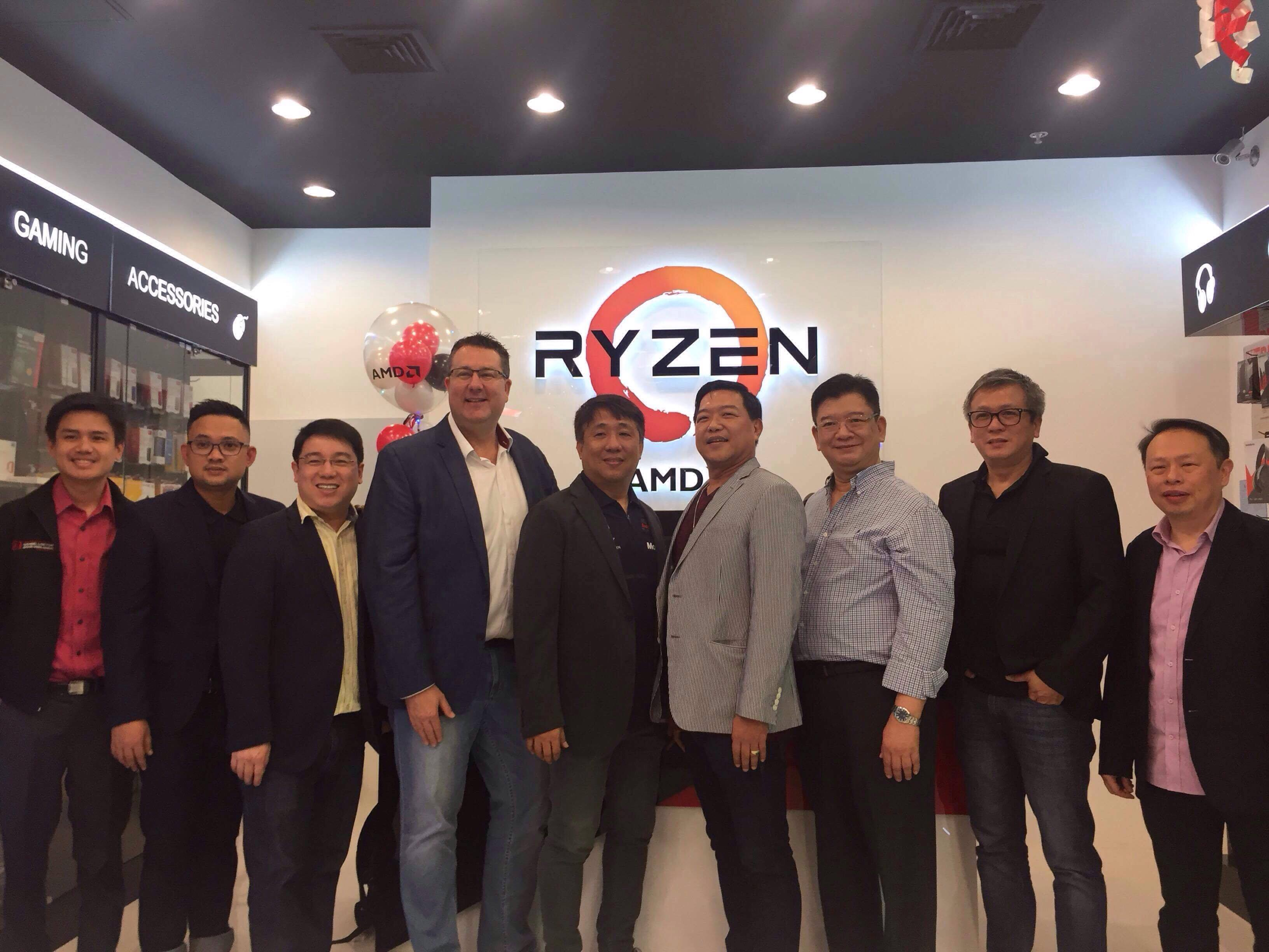 AMD Opens its First Concept Store in APJ, and it's Located Here in PH!