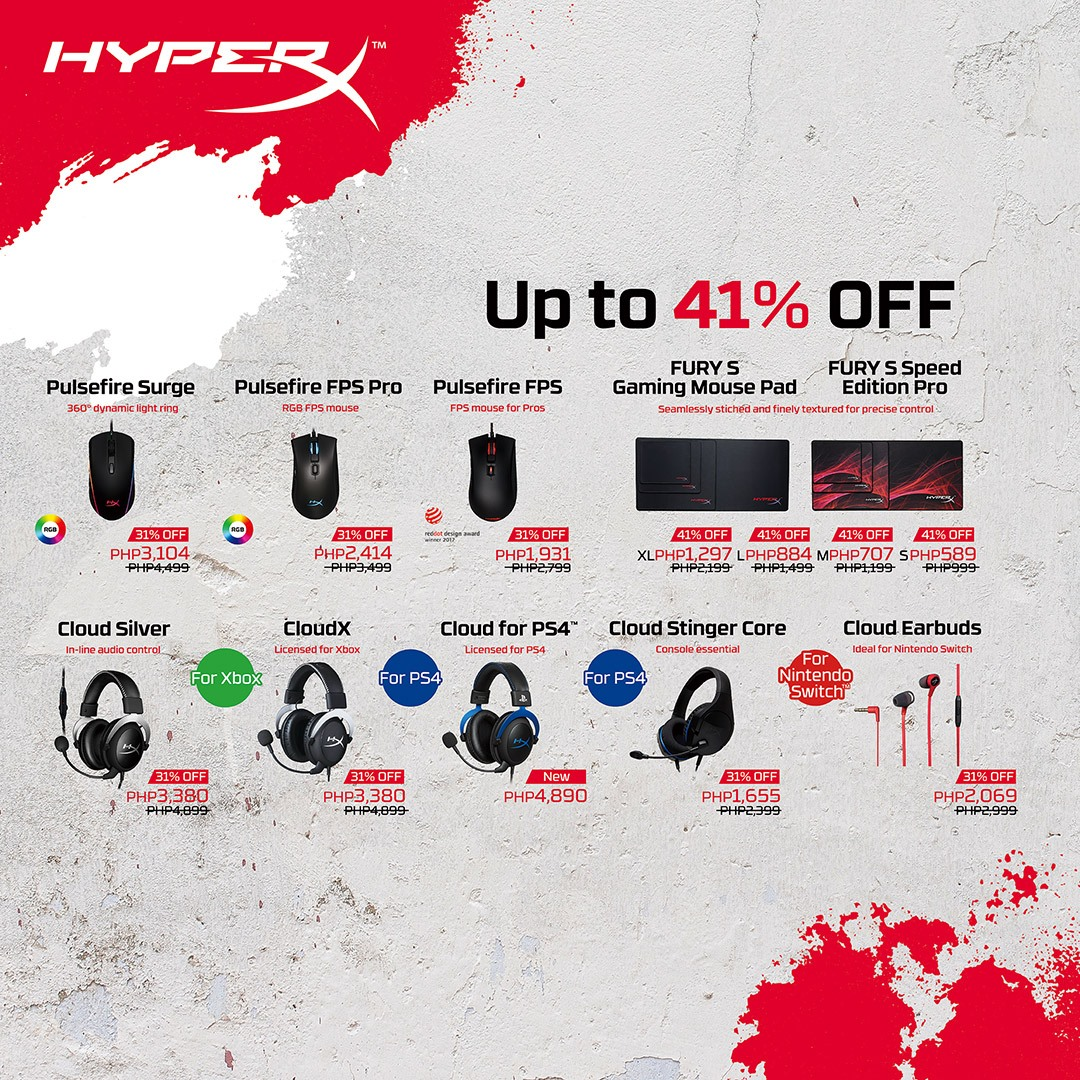 HyperX launches products for console owners