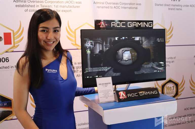 philips, Philips and AOC launch new monitors, Gadget Pilipinas