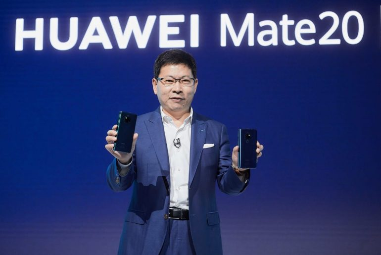 Mate 20 Launch 4 770x515 - Huawei redefines the smartphone with Mate 20 series