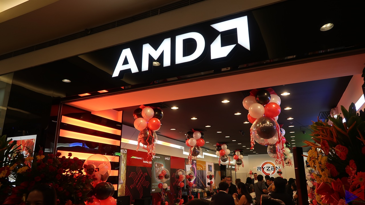 amd concept store, AMD Opens its First Concept Store in APJ, and it's Located Here in PH!, Gadget Pilipinas