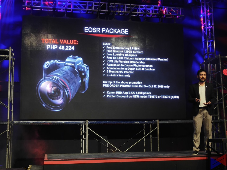 canon eos-r, Canon Launches EOS R Full-Frame Mirrorless Camera in PH, Gadget Pilipinas