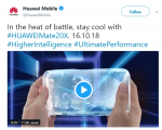 Huawei to Launch the Mate 20X, a Gaming-Focused Smartphone