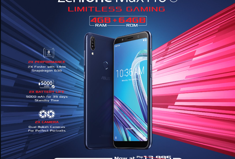 max pro m1 sale 761x515 - The ASUS ZenFone Max Pro M1 4GB Variant is Now More Affordable!