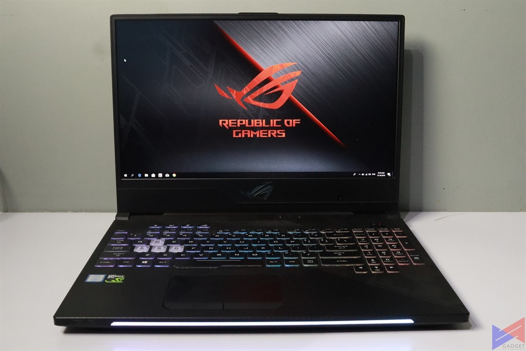 ASUS ROG Strix GL504GS SCAR II Gaming Laptop Review