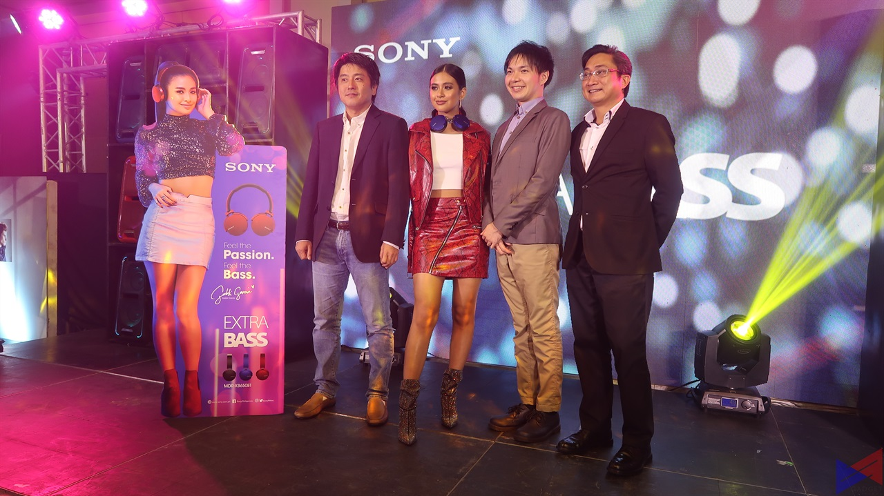 Gabbi Garcia is the New Sony Extra Bass Product Endorser!