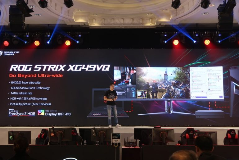 ASUS Unveils ROG Strix XG49VQ Curved Gaming Monitor!